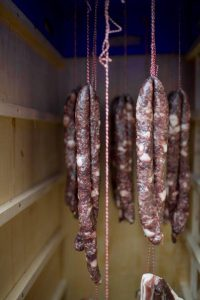 Lufttørret kød