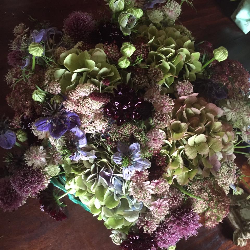 Økologiske Blomster Buketter & Kranse