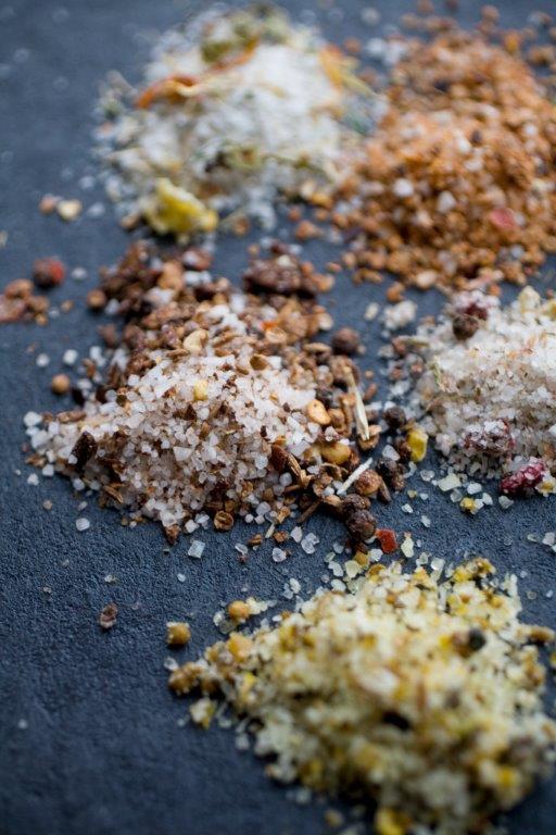 Kryddersalte og sukker