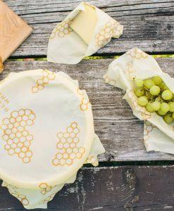 Øko Husholdning,; Bees Wrap - Klude uden mikroplast- majsfiberposer mm.NYHED